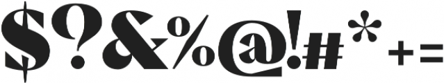 Pervinca Family ExtraBlack otf (900) Font OTHER CHARS