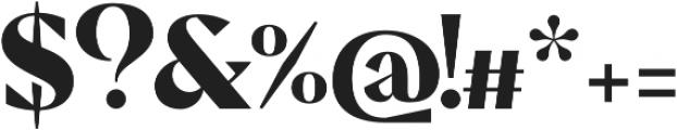 Pervinca Family ExtraBold otf (700) Font OTHER CHARS