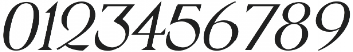 Pervinca Family Light Italic otf (300) Font OTHER CHARS