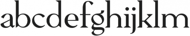 Pervinca Family Light otf (300) Font LOWERCASE
