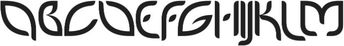PetalGlyph ttf (400) Font UPPERCASE