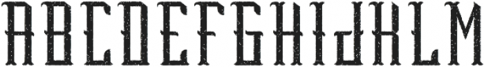 Peterborough Aged otf (400) Font UPPERCASE