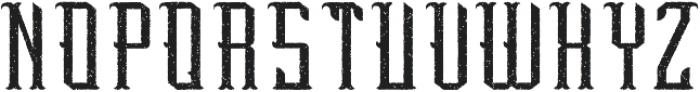 Peterborough Aged otf (400) Font LOWERCASE