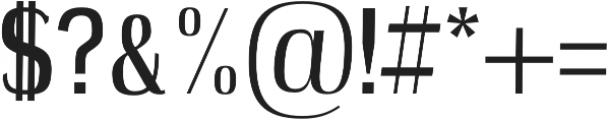 Petty Regular otf (400) Font OTHER CHARS