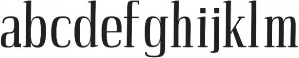 Petty Regular otf (400) Font UPPERCASE