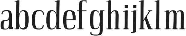 Petty Regular otf (400) Font LOWERCASE