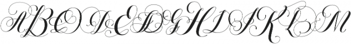 Petunia Monogram Regular otf (400) Font LOWERCASE