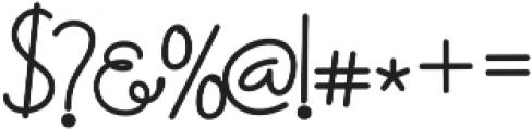 Petunia otf (400) Font OTHER CHARS