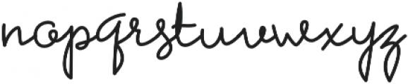 Petunia otf (400) Font LOWERCASE