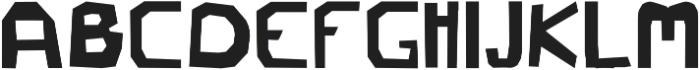 petra ttf (400) Font UPPERCASE