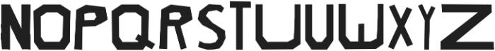 petra ttf (400) Font LOWERCASE