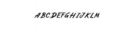 PestaDanza-Regular.ttf Font UPPERCASE