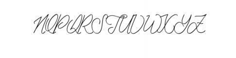 Peter Jhons.ttf Font UPPERCASE