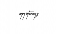 Peter Jhons.ttf Font LOWERCASE