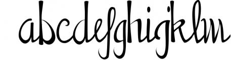 Penmanship Font LOWERCASE