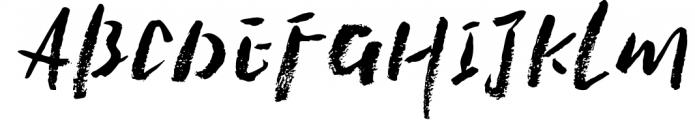 Penrhyme Calligraphy Font 3 Font UPPERCASE