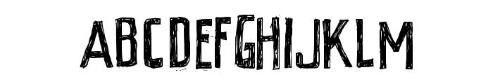 PEIXE FRITO Font UPPERCASE