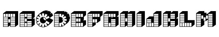 PEZ_font Font LOWERCASE