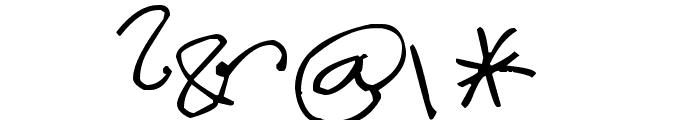 Pea Anna-Banana Font OTHER CHARS