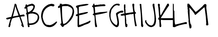 Pea Bandit Font UPPERCASE