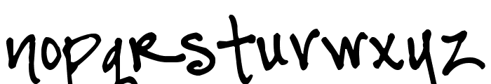 Pea BethC Font LOWERCASE