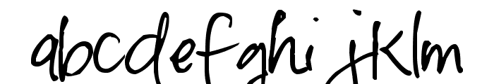 Pea Bhea Font LOWERCASE