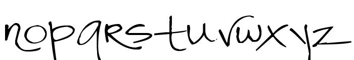 Pea Bitt Bitt Font LOWERCASE