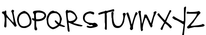 Pea Bonnie Font UPPERCASE