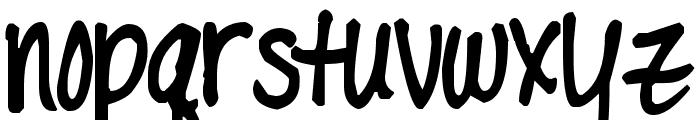 Pea Captivatiingly Font LOWERCASE