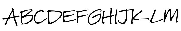 Pea Carlisle Font UPPERCASE