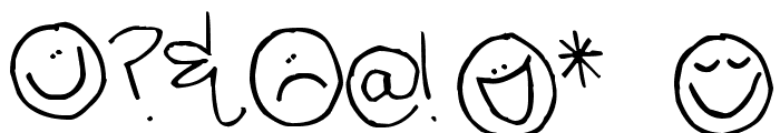 Pea Celestial Creation Font OTHER CHARS