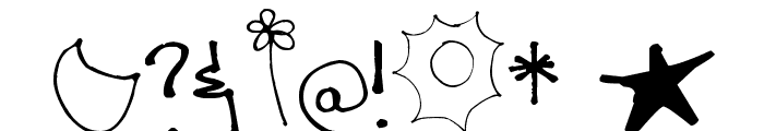 Pea Comfy Cozy Font OTHER CHARS