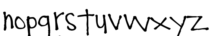 Pea Comfy Cozy Font LOWERCASE