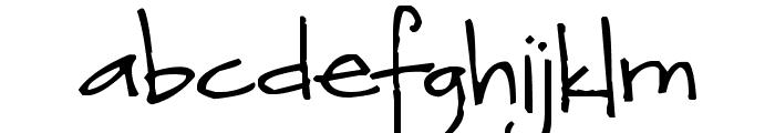 Pea Devon Font LOWERCASE
