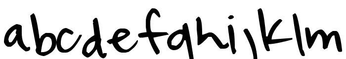 Pea Eleanor Font LOWERCASE