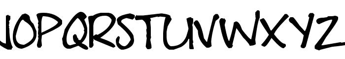 Pea Erwin Script Font UPPERCASE