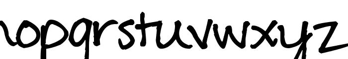 Pea Erwin Script Font LOWERCASE