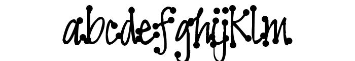 Pea Faith Dots Font LOWERCASE