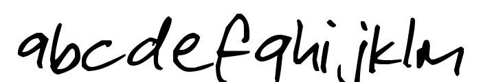 Pea Gabe Font LOWERCASE