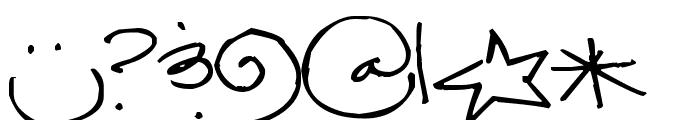 Pea Jamie Lea Font OTHER CHARS