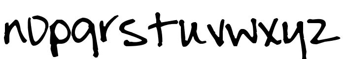 Pea Julie Font LOWERCASE