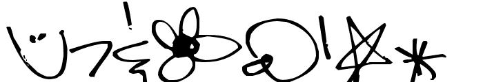 Pea Kadee Font OTHER CHARS