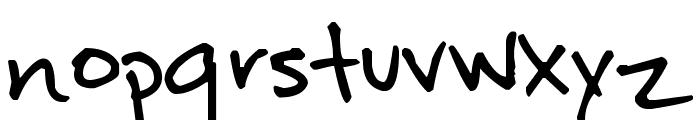 Pea Kareen Font LOWERCASE