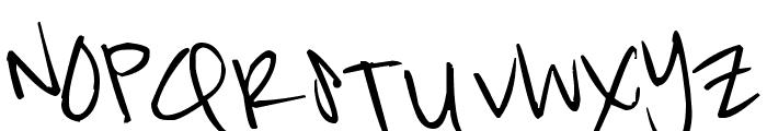 Pea Kat Font UPPERCASE