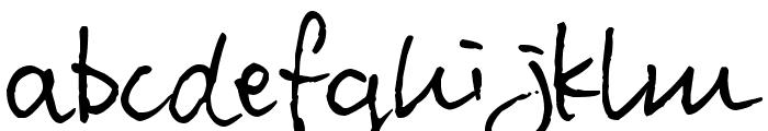 Pea Kawai Font LOWERCASE