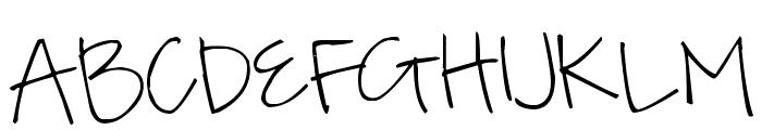 Pea Kensey Font UPPERCASE