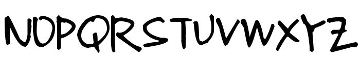 Pea Kerstin Font UPPERCASE