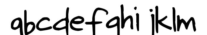 Pea Kerstin Font LOWERCASE