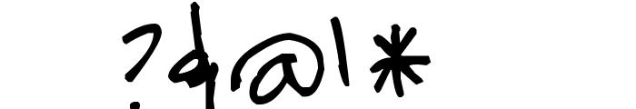 Pea Ladybug Font OTHER CHARS