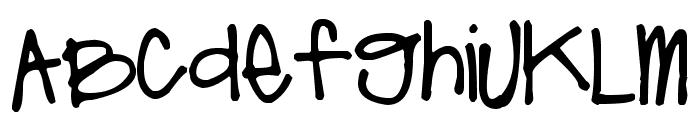 Pea Lindsey Unicase Font LOWERCASE